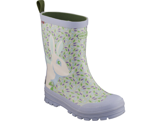 Viking Footwear Big Rabbit Boots Kinder light blue/multi